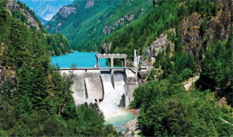 Mini Hydroelectric Dam : Small hydropower plants no competition in a competitive